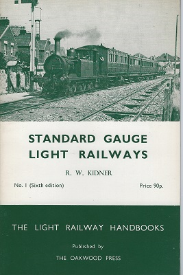 Image for Standard Gauge Light Railways. Number 1