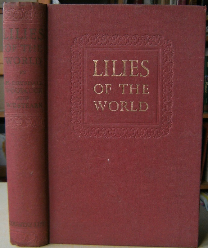 Image for Lilies of the World - their culture and classification