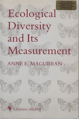 Image for Ecological Diversity and its Measurement  [Peter Moore's copy]