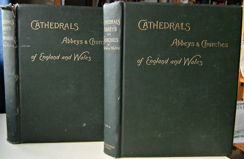Image for Cathedrals, Abbeys and Churches of England and Wales.  Two volumes   [Richard Fitter's copy]