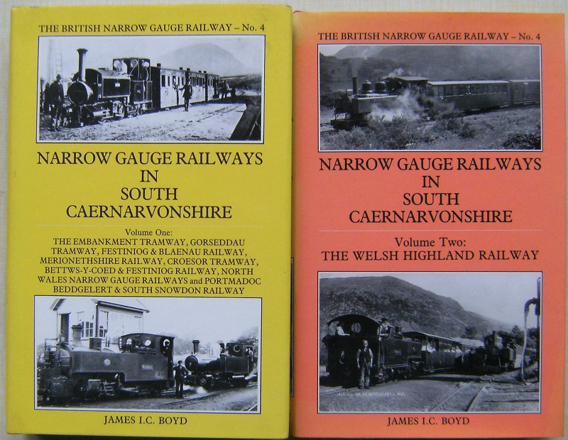 Image for Narrow Gauge Railways in South Caernarvonshire - Two Volumes