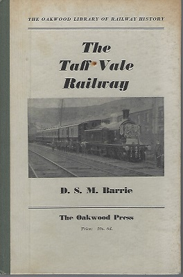 Image for The Taff Vale Railway