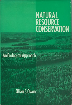 Image for Natural Resource Conservation - An Ecological Approach (Peter Moore's copy)