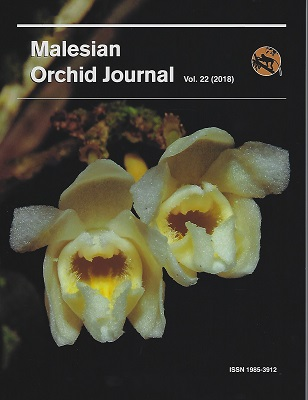 Image for Malesian Orchid Journal Volume 22