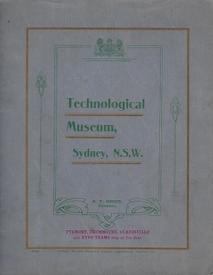 Image for Technological Museum, Sydney, N.S.W.
