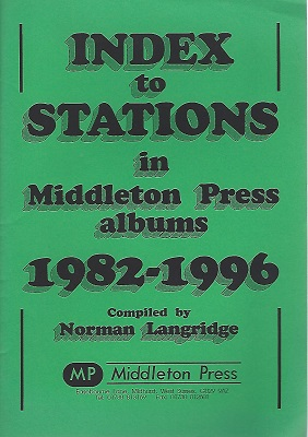 Image for Index to Stations in Middleton Press Albums 1982 - 1996