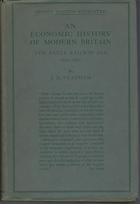 Image for An Economic History Of Modern Britain: The Early Railway Age 1820-1850