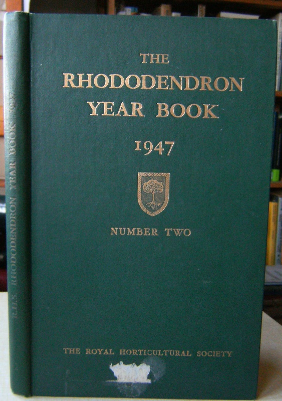 Image for The Rhododendron Year Book 1947
