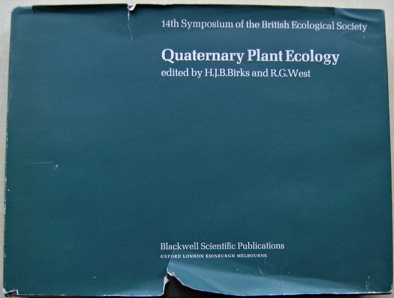 Image for Quaternary Plant Ecology - 14th Symposium of the British Ecological Society