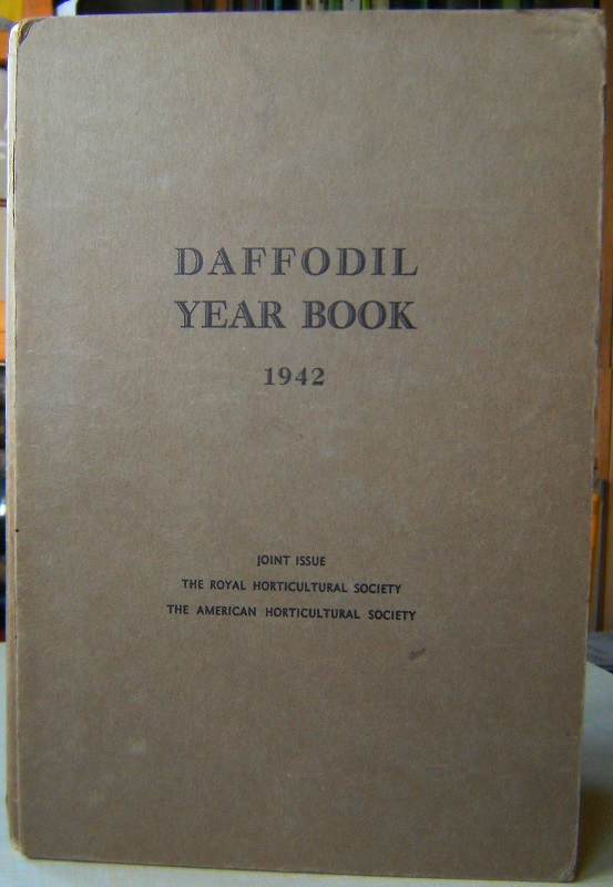 Image for The Daffodil Year Book 1942