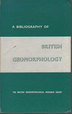 Image for A Bibliography of British Geomorphology