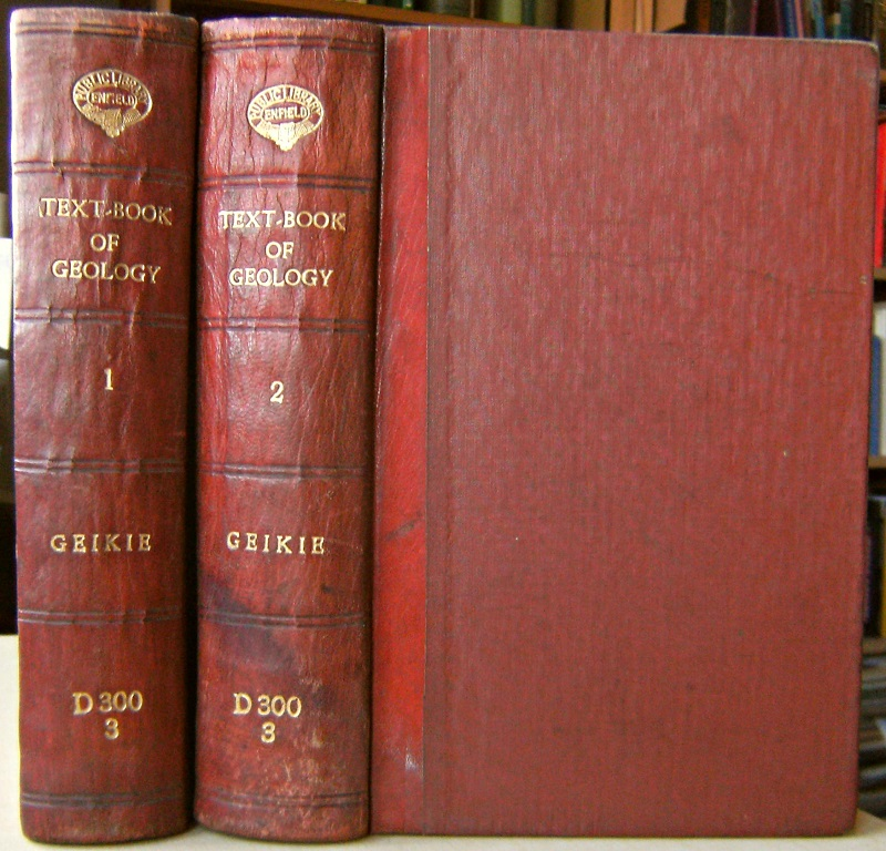 Image for Text-Book of Geology  - Two volumes (Fourth edition)