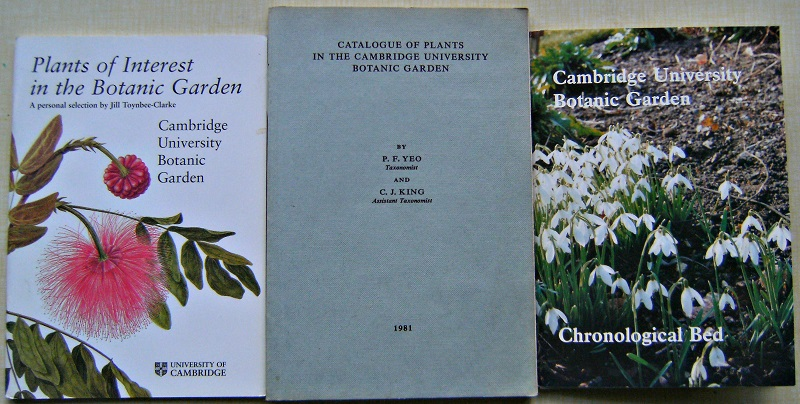 Image for Catalogue of Plants in the Cambridge University Botanic Garden. Plants of Interest in the Graden.  The Chronological Bed guide