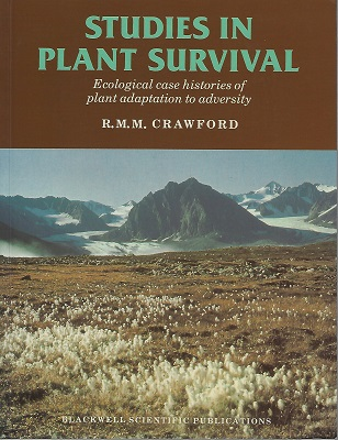 Image for Studies in Plant Survival - ecological case histories of plant adaptation to adversity