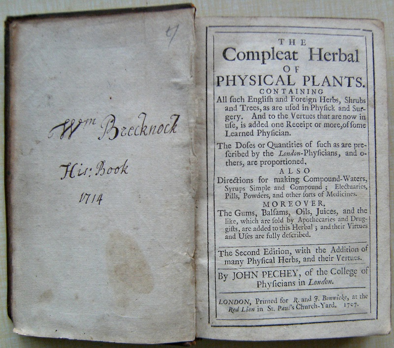 Image for The Compleat Herbal of Physical Plants. Containing all such English and Foreign Herbs, Shrubs and Trees as are used in Physick and Surgery....also directions for making compound-waters, syrups, electuaries, pills, powders...gums, balsams, oils, juices .