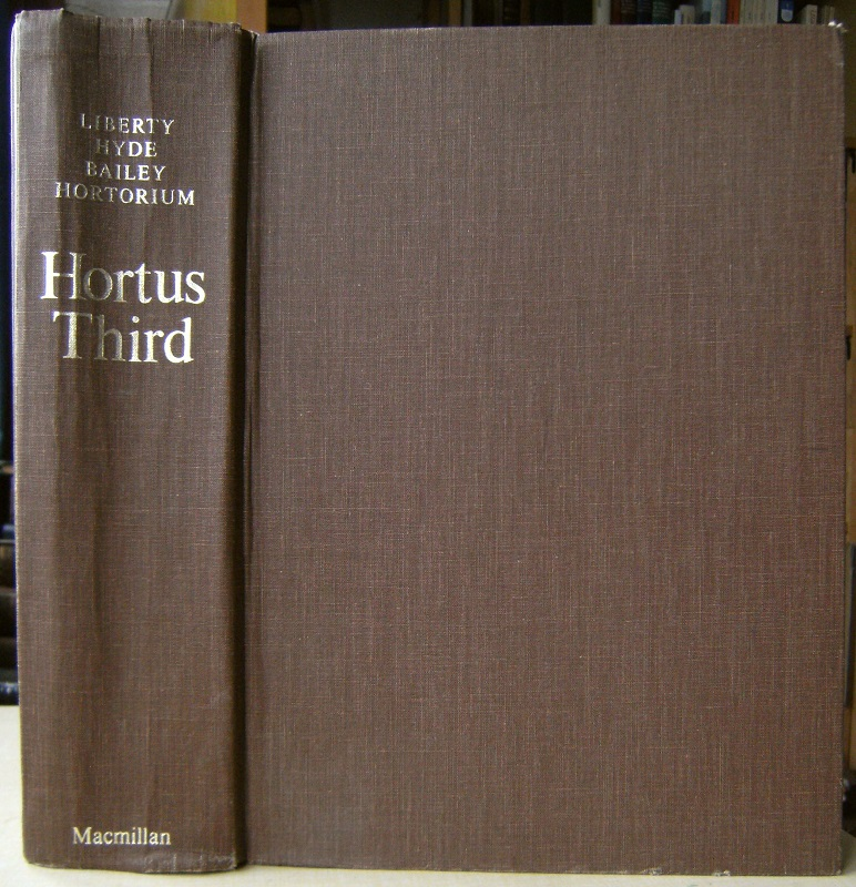 Image for Hortus Third - a concise dictionary of plants cultivated in the United States and Canada