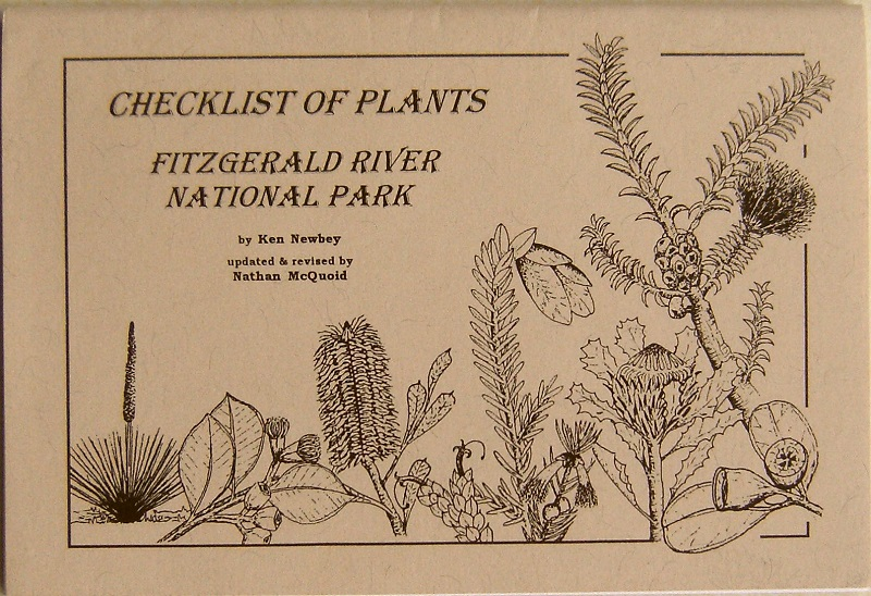 Image for Checklist of Plants Fitzgerald River National Park