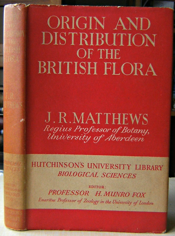 Image for Origin and Distribution of the British Flora