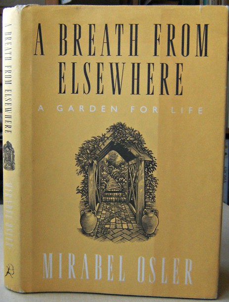 Image for A Breath From Elsewhere - musings on gardens (Elspeth Thompson's copy)