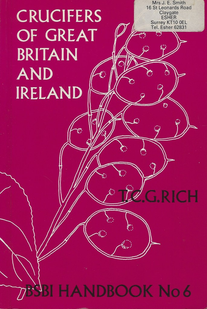 Image for Crucifers of Great Britain and Ireland (Joyce Smith's copy)