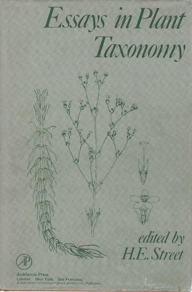 Image for Essays in Plant Taxonomy (Max Walters' copy)
