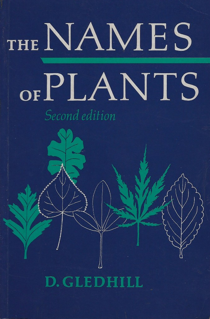 Image for The Names of Plants
