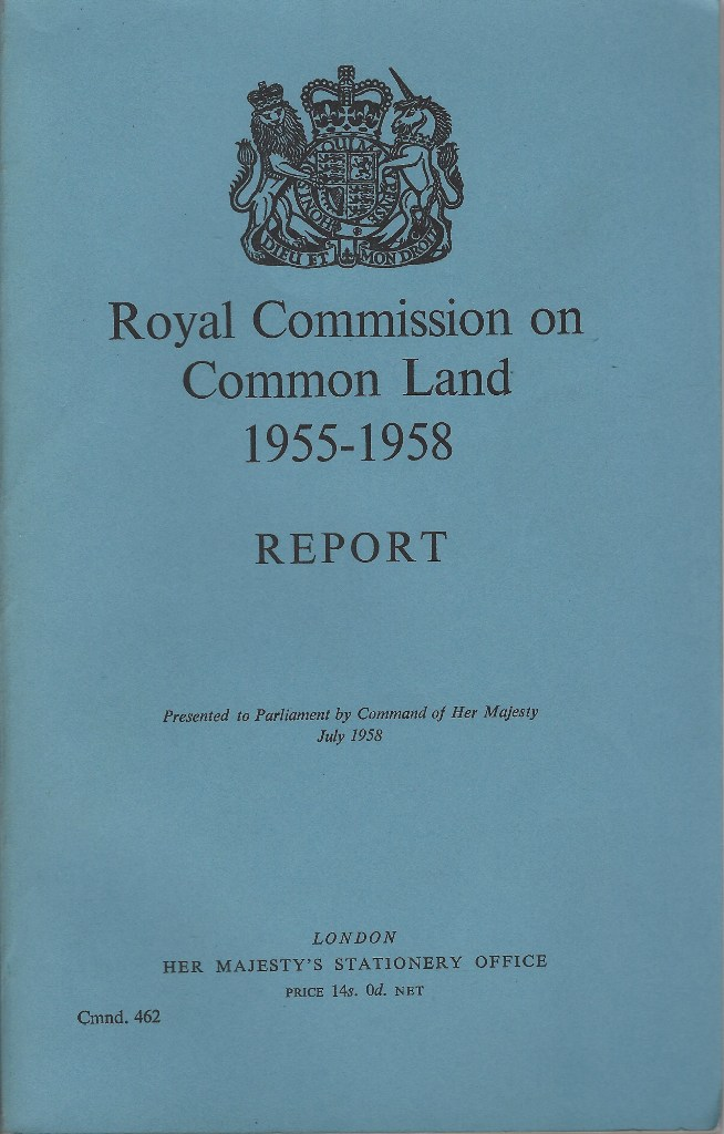 Image for Royal Commission on Common Land, 1955 - 1958