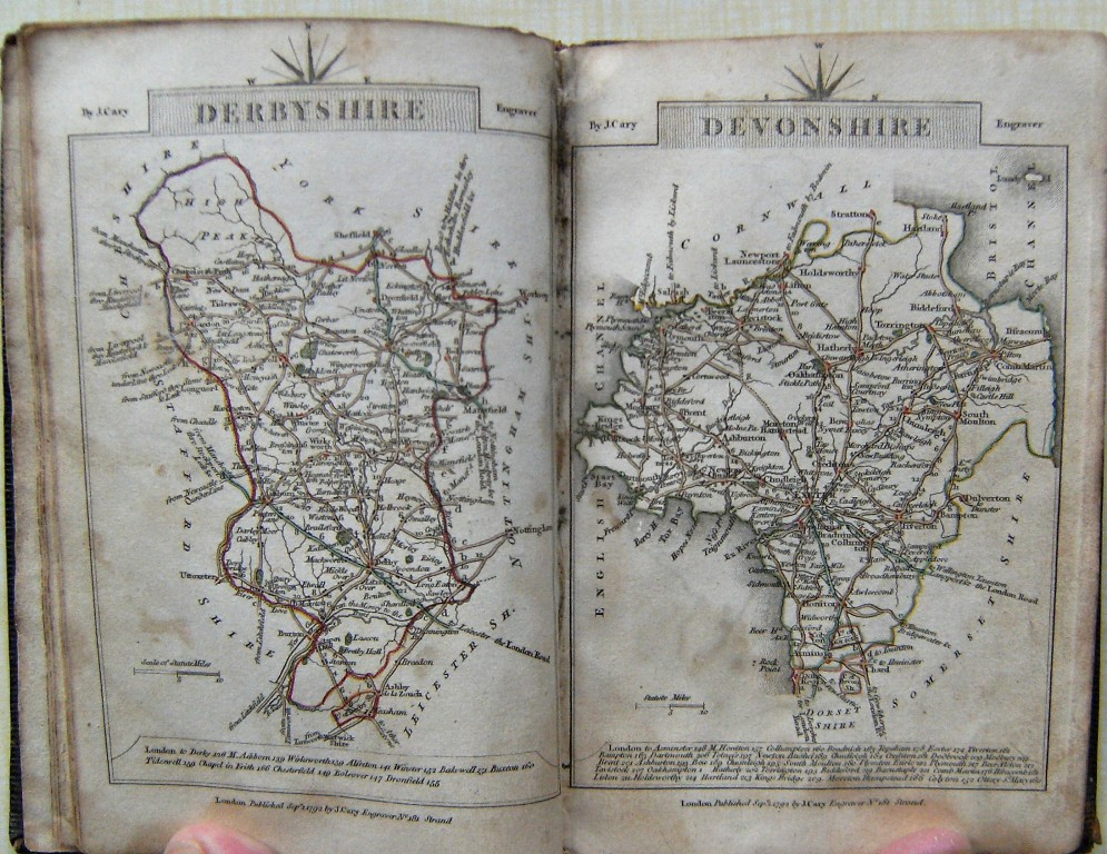 Image for Cary's Traveller's Companion, Or, A Delineation of the Turnpike Roads Of England and Wales; shewing the Immediate Route to every Market and BoroughTown throughout the Kingdom. Laid down from the best Authorities, On A New Set of County Maps