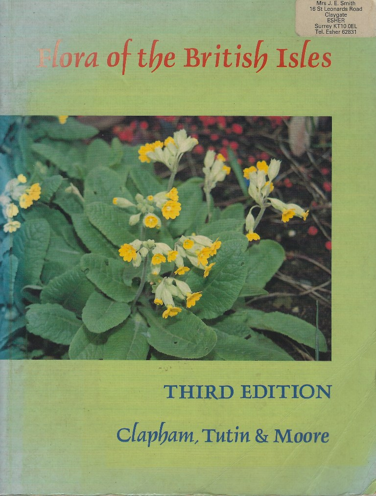 Image for Flora of the British Isles [Joyce Smith's copy]