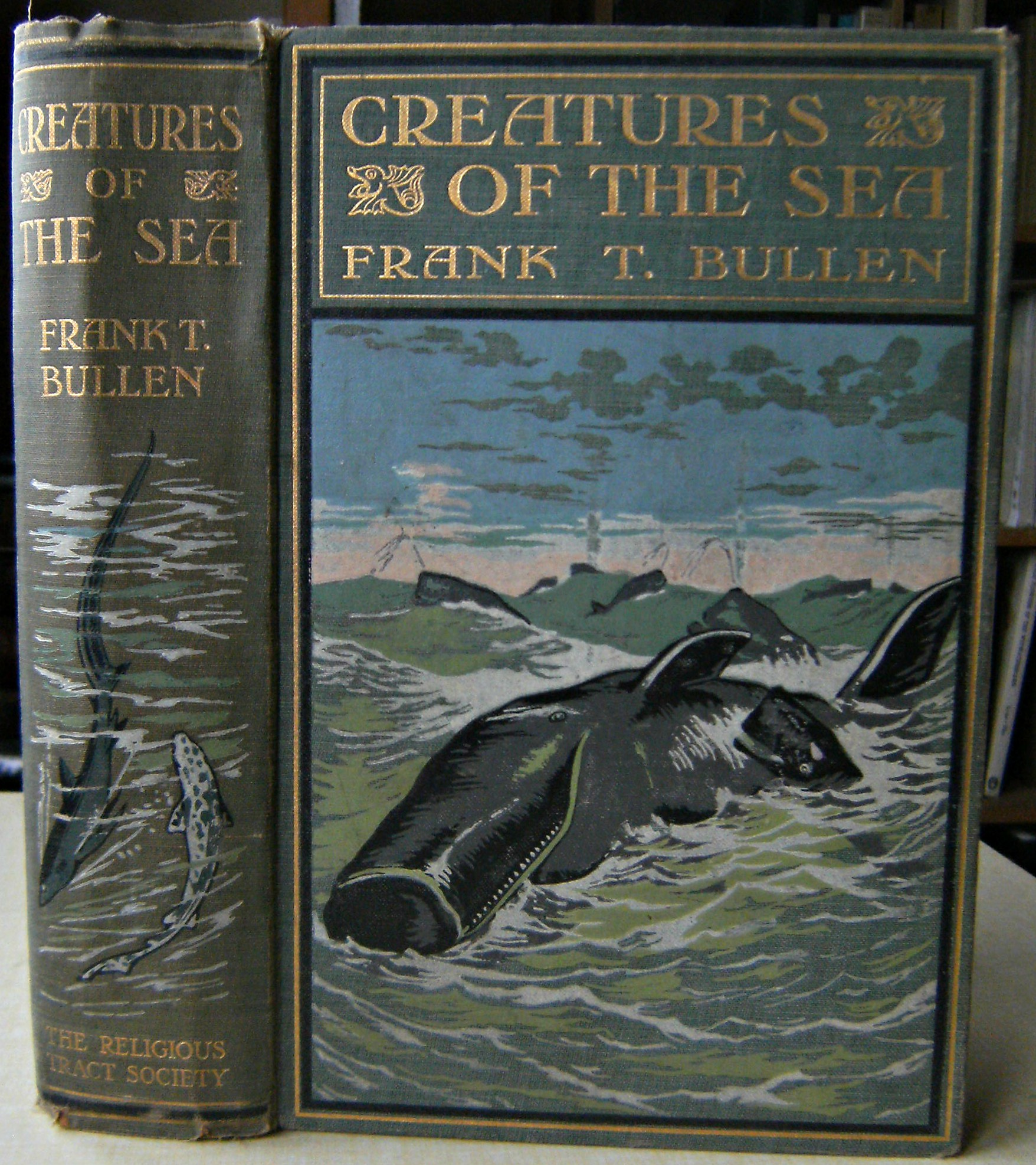 Image for Creatures of the Sea:  Being the Life stories of some Sea Birds, Beasts, and Fishes