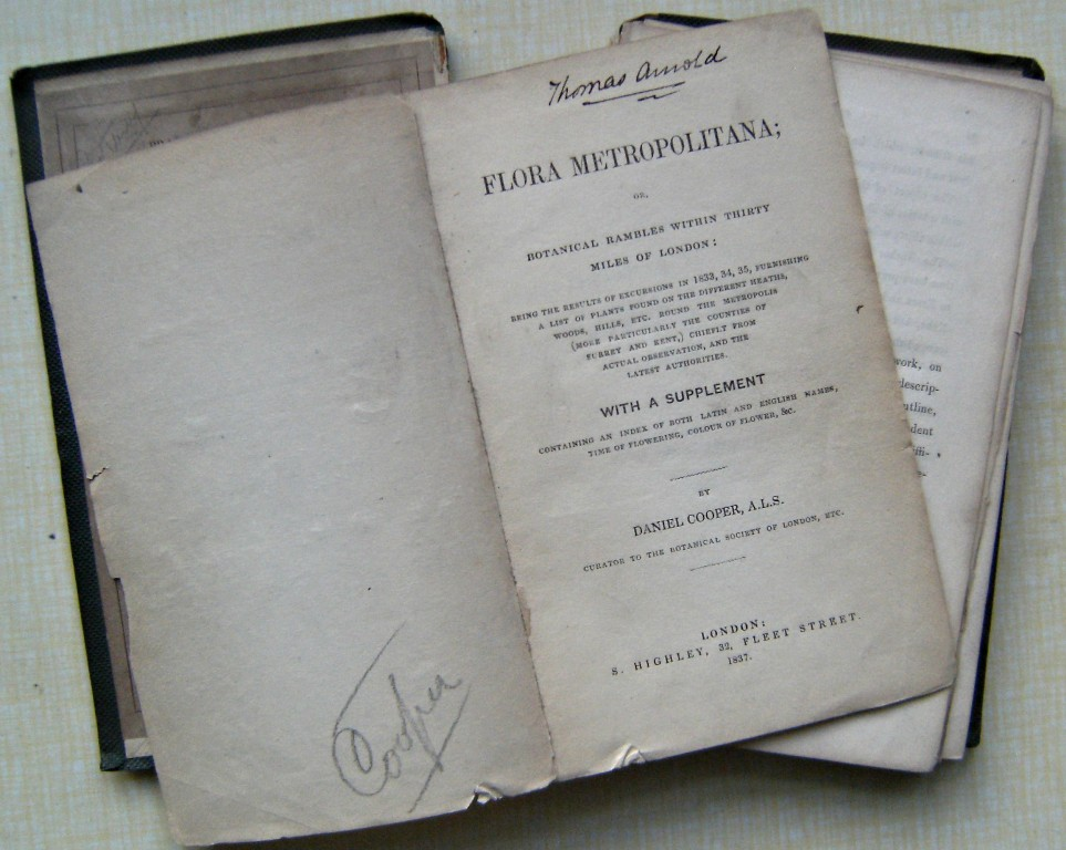 Image for Flora Metropolitana; or, botanical rambles within thirty miles of London Being the results of numerous excursions made in 1833, 34, 35, and 36. Furnishing a list of those plants that have been found on the different heaths, woods, commons, hills, etc., su