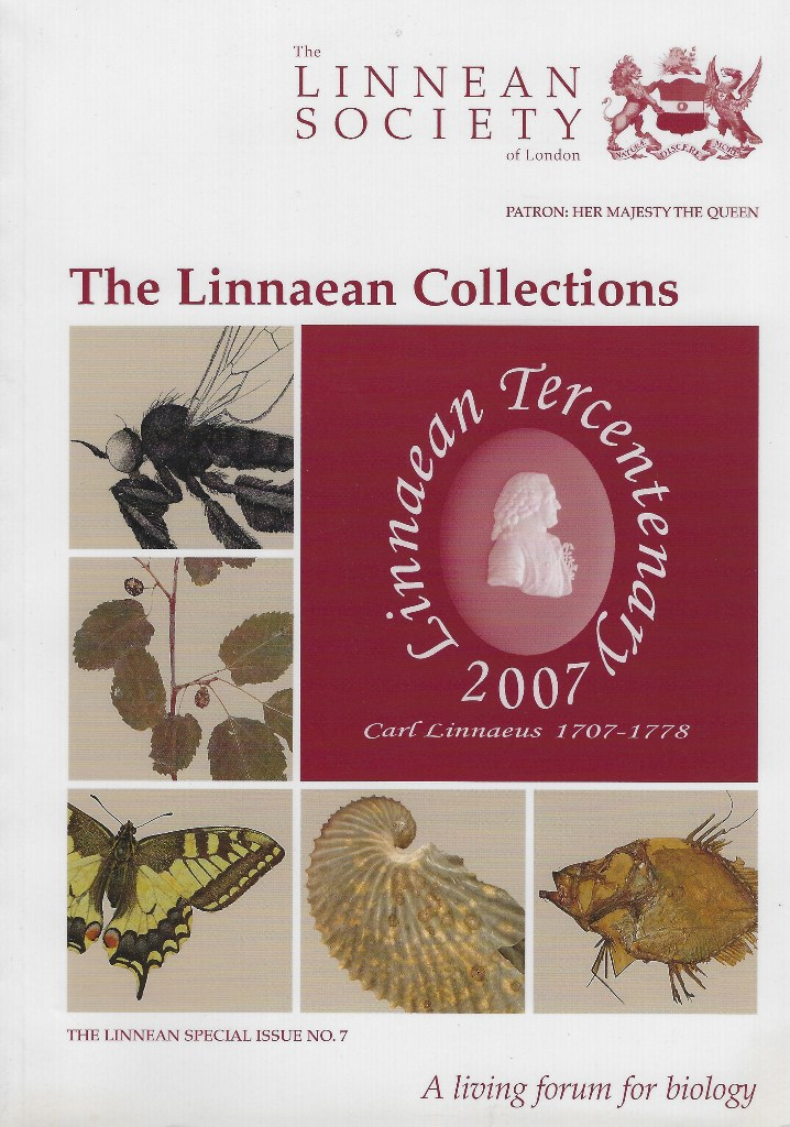 Image for The Linnaean Collections [Linnean Special Issue number 7]