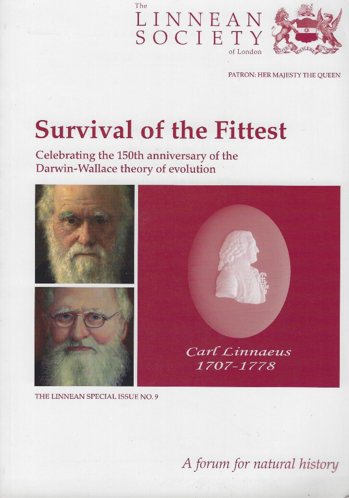 Image for Survival of the Fittest - A special edition of The Linnean celebrating the 150th anniversary of the Darwin-Wallace theory of evolution