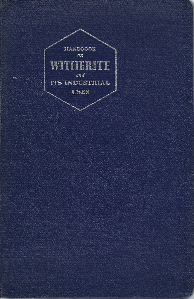 Image for Witherite [Natural Barium Carbonate] and Its Industrial Uses