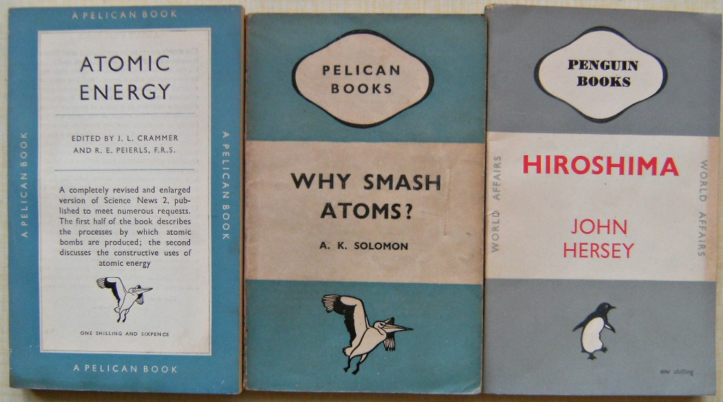 Image for Hiroshima, Penguin Book No 603 (with 2 others - Why Smash Atoms, Pelican A141, and Atomic Energy,  Pelican A224)
